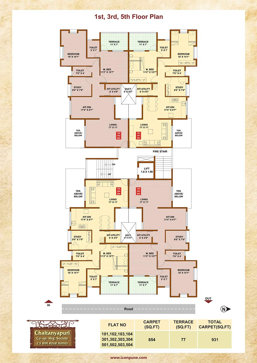 2 5 Bhk Flats And Apartments In Kothrud Pune
